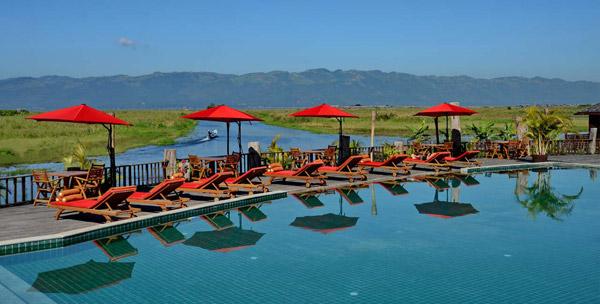 奥勒姆茵莱湖度假村泳池