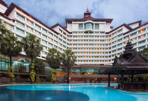 仰光赛多纳酒店泳池