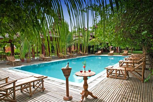 蒲甘泰泽花园饭店泳池